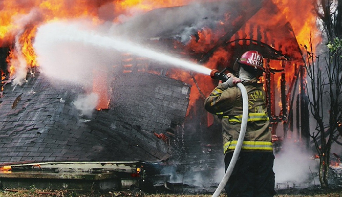 Daling aantal branden in 2014